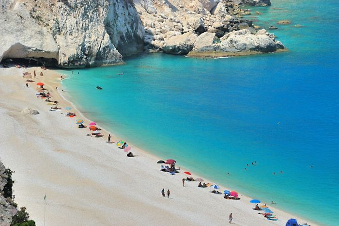 Myrtos beach-Kephalonia island