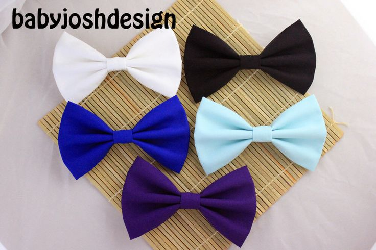 Solid Color Fabric Hair Bows,Pastel Fabric Hair bow for teens or women,girls hair bows,basic hair bows , Hair Bows by babyjoshdesign on Etsy https://www.etsy.com/listing/117723616/solid-color-fabric-hair-bowspastel