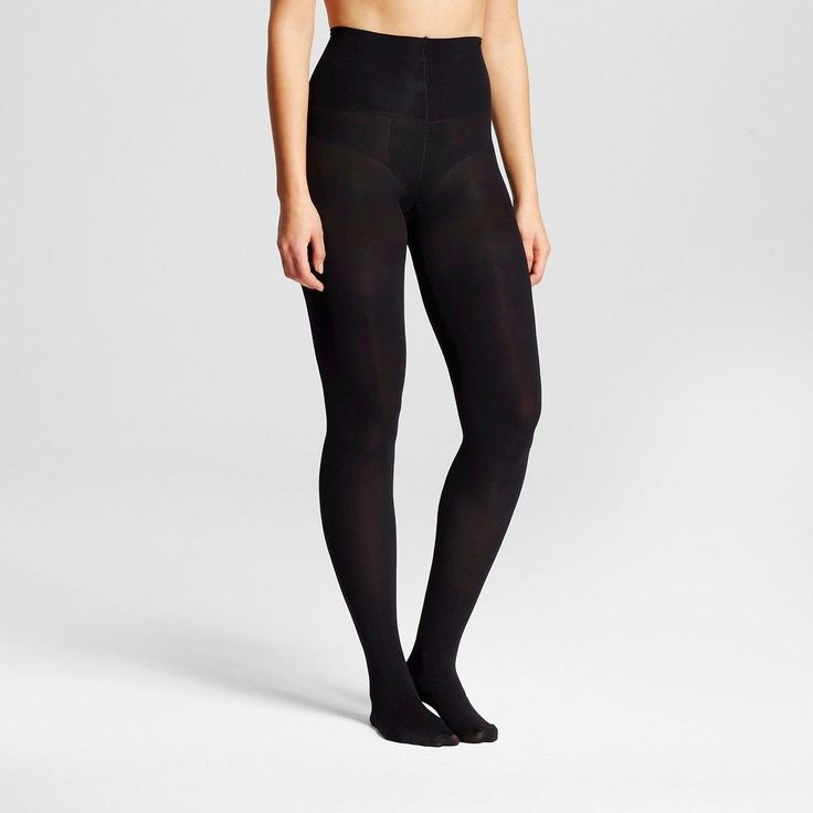 Assets by Spanx Women's Tummy Shaping Tight Black