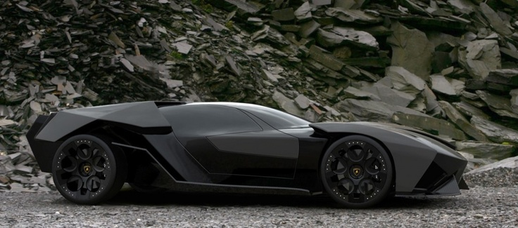"Lamborghini Ankonian Concept 2013  If I had this car it would be hard not to say ""I'm Batman"" all the time!Cars Design, Amazing Cars, Cars Junkie, Art, Lamborghini Ankonian, I M Batman, House, Dreams Cars"