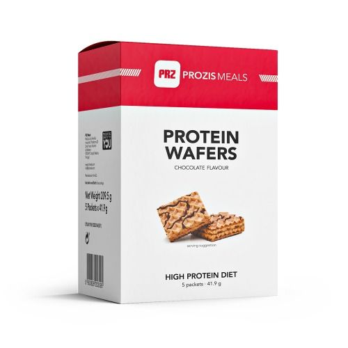 5 x Protein Wafer 40 g - Nutritional Bars | Prozis Meals