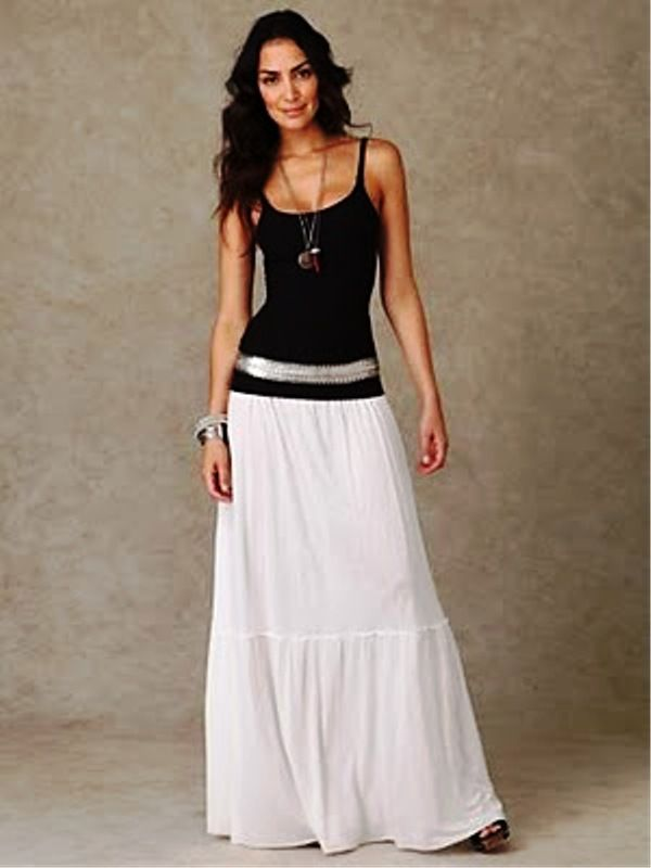 17 Best images about Maxi Skirts on Pinterest | Summer, Maxi ...