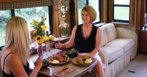 Luxurious Motorhomes Interior | Luxury Motorhome Sales – RV lifestyle tips, facts, information. How ...