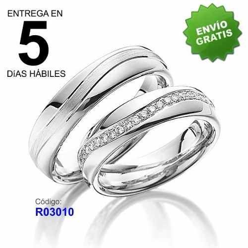 b3f07c56a743 Remate Par Argollas De Matrimonio Plata 925 Baño Oro 18k A12 ...