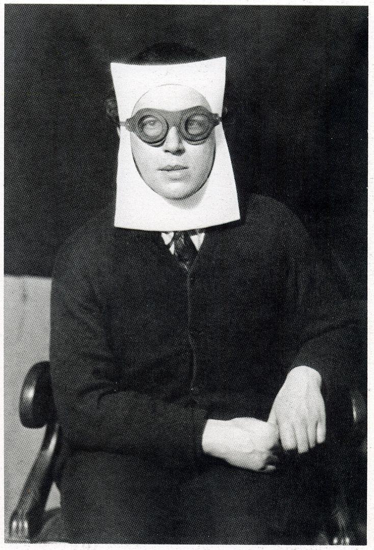 Andre Breton, by Man Ray