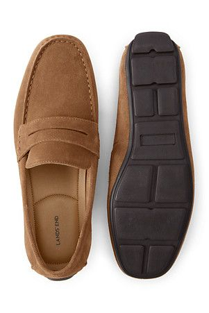 48568e87caa Men s Penny Loafer Driving Shoes in Suede in 2019