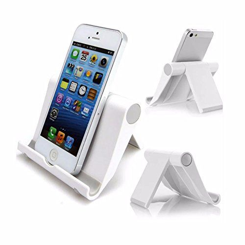 Supports pour smartphones ou tablettes: FONCTION: Ce support Téléphone est très facile à ajuster au niveau de l'angle, il peut maintenir…