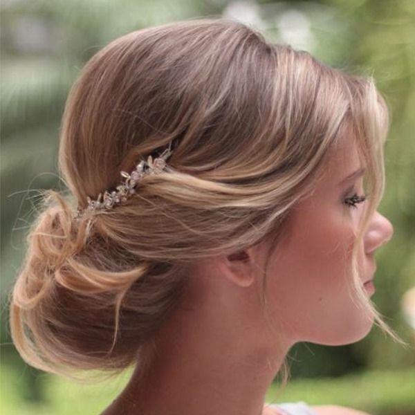 Penteados: cabelos despojados para casamento no campo - Foto Sandro Dessou