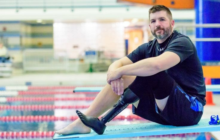 Meet Dan Lasko a triathlete who is a Veteran with a below the knee amputation. We had the opportunity to offer one Veteran a chance to test the most advanced aquatic prosthetic. Dan ran through all of the tests and by the end he was able to comfortably swim with his kids again. It's people like Dan who make us love our jobs. You can't help but be inspired by #realpeoplecasting. It's an honor to listen to your stories. Happy Veterans Day and thank you to all who serve!
