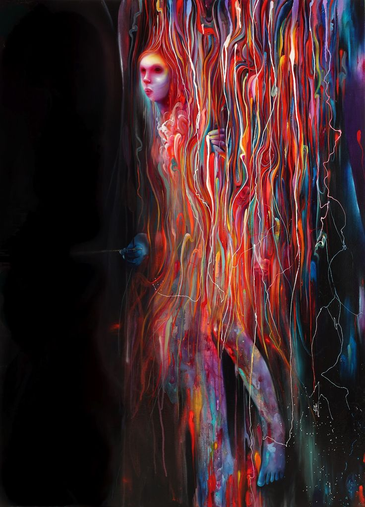 I have fallen for this Michael Page painting. Very hard. It reminds me of magical realism, electricity and ghost-stories. Incredibly beautiful. Found via Hovering Cat.