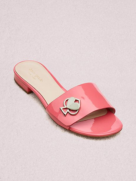 8ddf2cc0be8b Kate Spade Ferry Slide Sandals