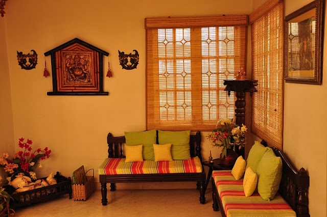 Once Upon A Tea Time.... Design Stories: Loving your home: Sigappi Annamalai in Coimbatore, India Simple. So nice.