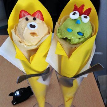 These Animal Faces on Ice Cream Cones are Cute Eats!