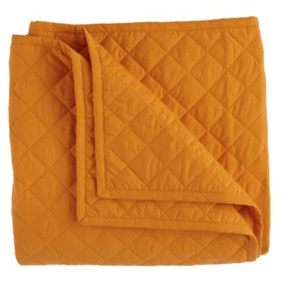 Moving Blanket & Sham (Orange)  | Crate and Barrel