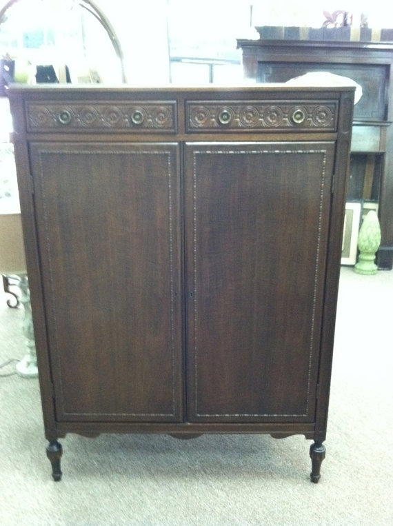 vintage antique furniture wardrobe walnut armoire. items similar to beautiful antiquevintage small walnut wardrobearmoire circa 1920 plenty of storage on etsy vintage antique furniture wardrobe armoire n
