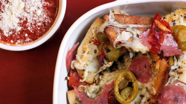This recipe for Pizza Nachos Italiano will ensure you're the MVP of any game day snacking.