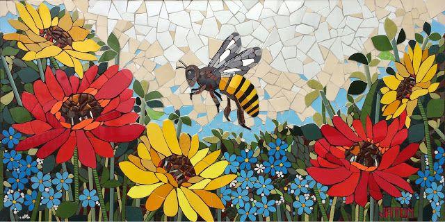 Fj CREATIVE MOSAIC Mosaic Art: Murals Design: Fernanda Jaton
