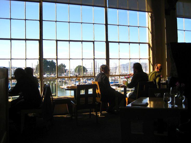 Greens // Fort Mason ...farm to table #vegetarian food, overlooking the SF Marina.