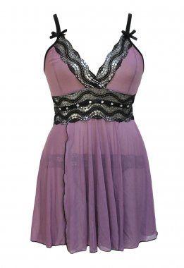 Plus Size Mesh and Metallic Lace Babydoll Nightwear Nightie Sleepwear Tiana-boutique http://www.amazon.co.uk/dp/B00UFT7LV2/ref=cm_sw_r_pi_dp_-u5gwb01SKMAQ