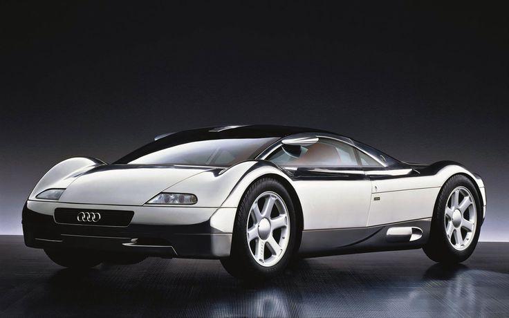Audi Avus, 1991: Nagy hatást gyakorolt rám a kilencvenes évek autóskártyáinak…