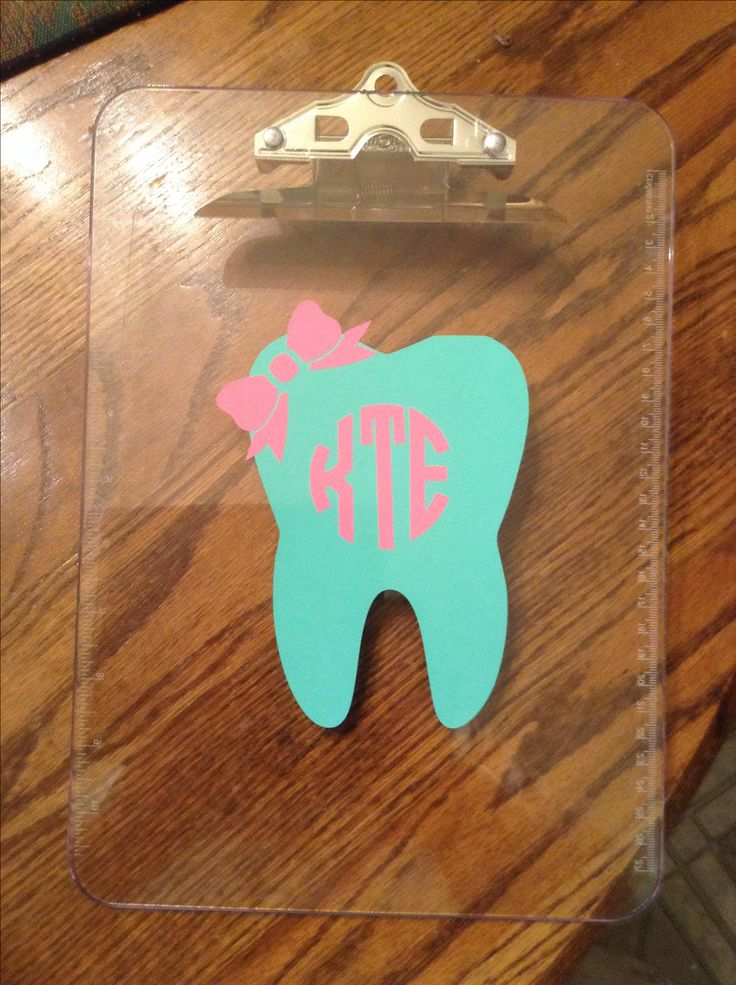 discount Cute clipboard for dental hygienist  Would make a great graduation gift