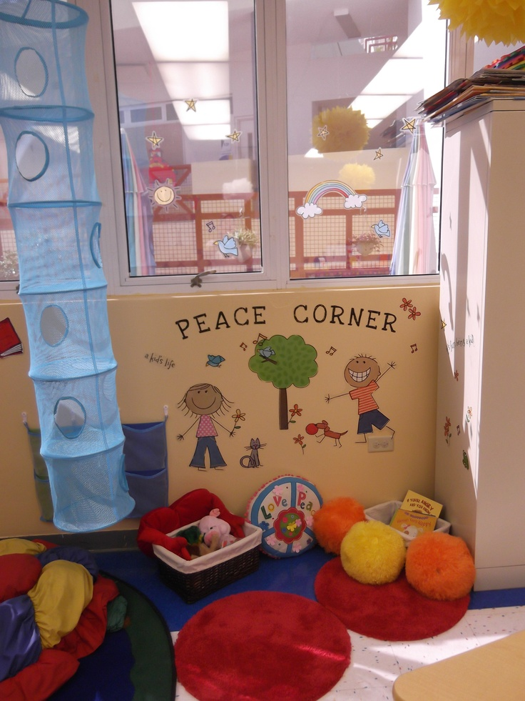 My classroom peace corner | Preschool classroom decor ...