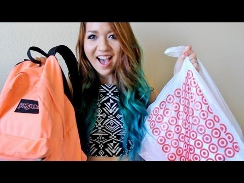 Back to School Supplies and Organization 2013 - YouTube