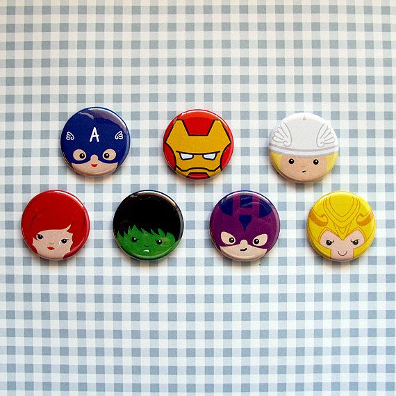 Avengers Pins