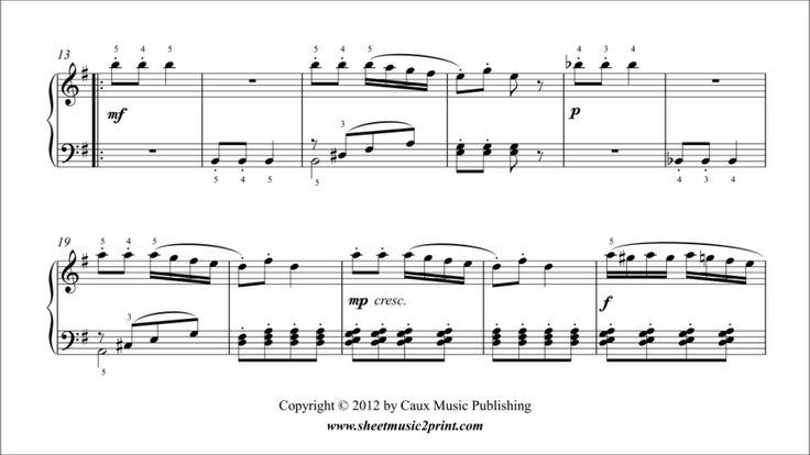 Johann Anton ANDRÉ (1775-1842) : Sonatina in G Major, Op. 34, No. 2 (II : Rondo Allegretto) www.sheetmusic2print.com/Andre/Sonatina-34-2-Rondo.aspx