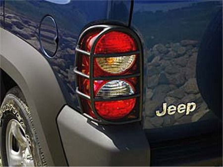 Jeep Liberty Accessory - Mopar OEM Jeep Liberty Molded Tail Lamp Guards