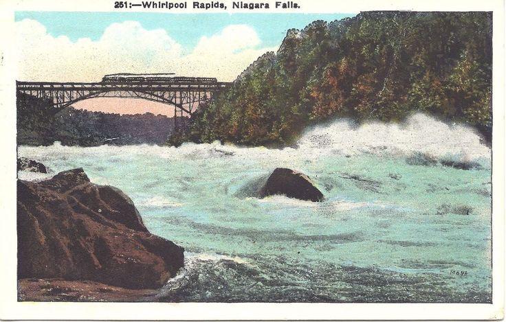 US Old Postcard Niagara Falls NY - Whirlpool Rapids c. 1920