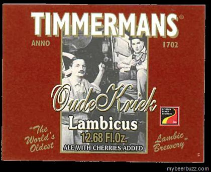 mybeerbuzz.com - Bringing Good Beers & Good People Together...: Timmermans Lambicus - Oude Gueuze and Oude Kriek