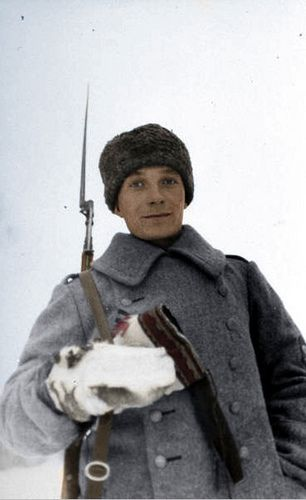 Finnish soldier - Winter war