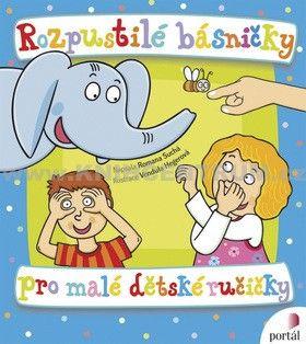 Další skvělá kniha říkanek. Malému dítěti je můžete jen říkat a k tomu ukazovat doprovodné prvky vy, později je dítě dělá samo. Básničky nejsou zastaralé a týkají se obyčejných věcí. Na konci knížky je i pár básniček jako doprovod stříhání nehtů, uklízení pokoje nebo čištění zubů.