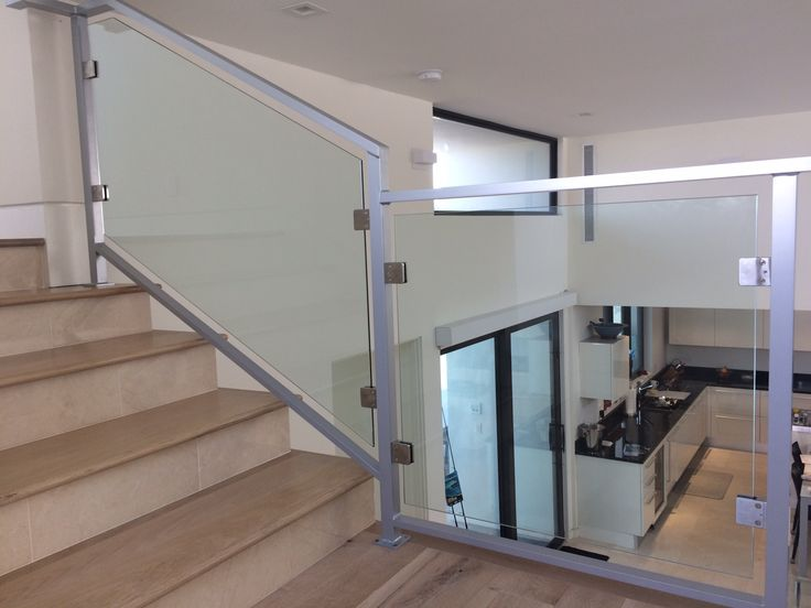 Glass railings are suitable for inside or outside, residential or commercial use. This application is a desired choice for a contemporary or modern design. Glass railings give an unimpeded view while providing safety. Contact Superior Spiral Stairs and let us transform your home. If you can dream it, we can weld it!