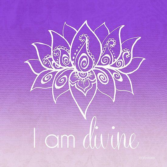 I AM Divine by CarlyMarie