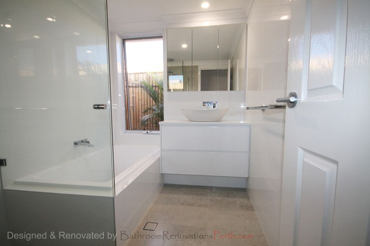 2015 Mullaloo Bathroom : designed and renovated by Bathroom Renovations Perth   www.bathroomrenovationsperth.com  https://www.facebook.com/bathroomrenovationperth
