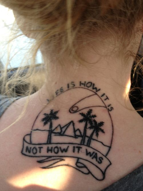 I'd love to get a tattoo for this album and gosh I am jealous of this one