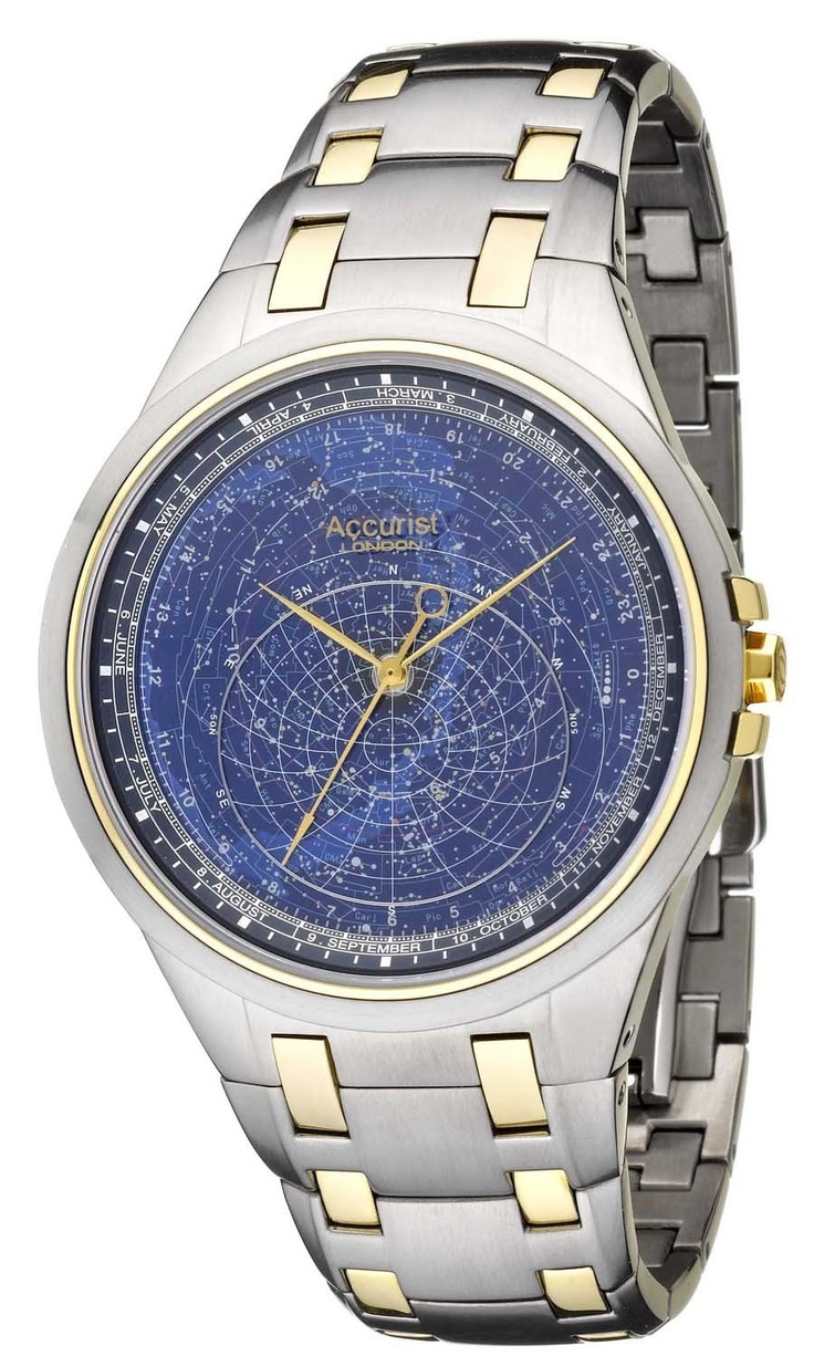 Celestial Timepiece Watches Accurist