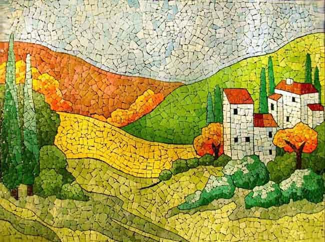 17 best images about mosaic flowers garden landscape on for Mosaic landscape design