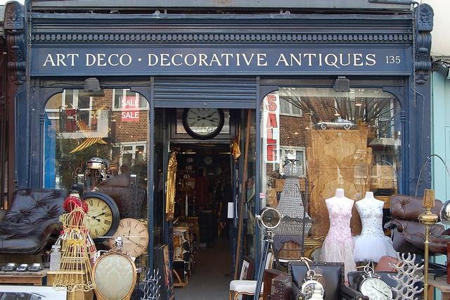 Antiques Shop, London