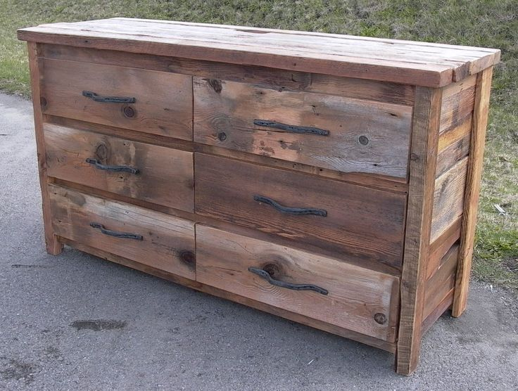 17 Best Images About Rustic Bedroom Furniture On Pinterest 6 Drawer Dresser Extra Storage And