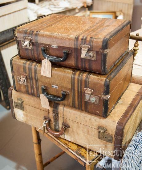 183 best Vintage Luggage & Trunks images on Pinterest | Vintage ...