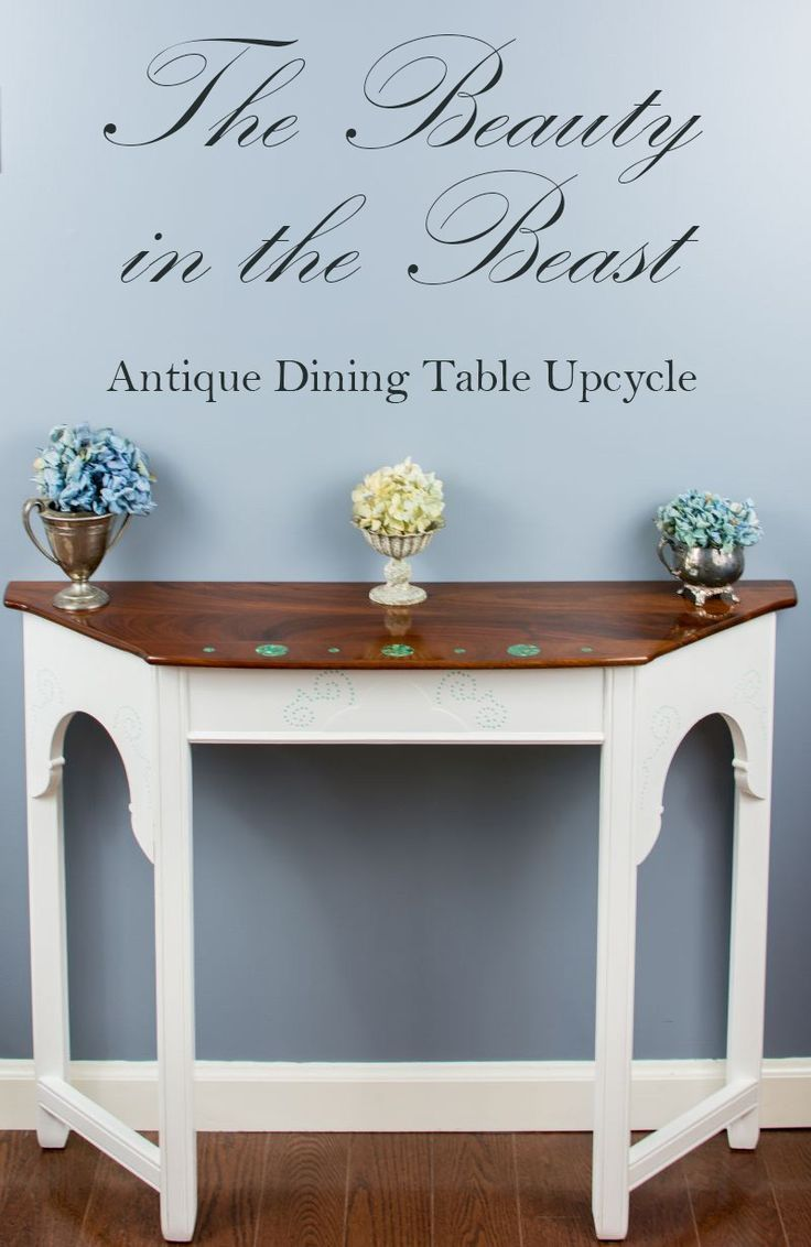 The 25 best antique dining tables ideas on pinterest for Beauty and the beast table and chairs
