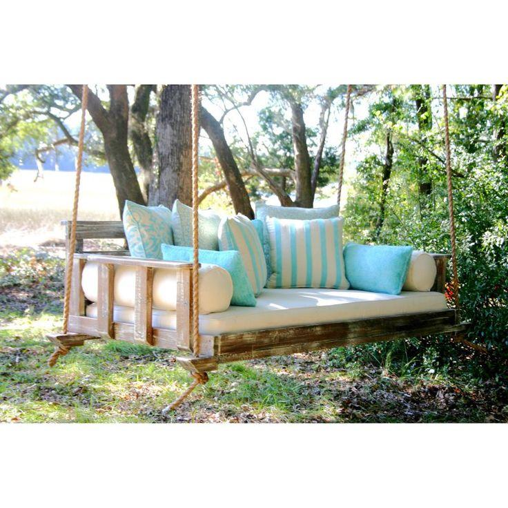 Vintage Porch Swing Peninsula Noah Swing Bed Vintage White - NOAH-GRAND-VINWHITE