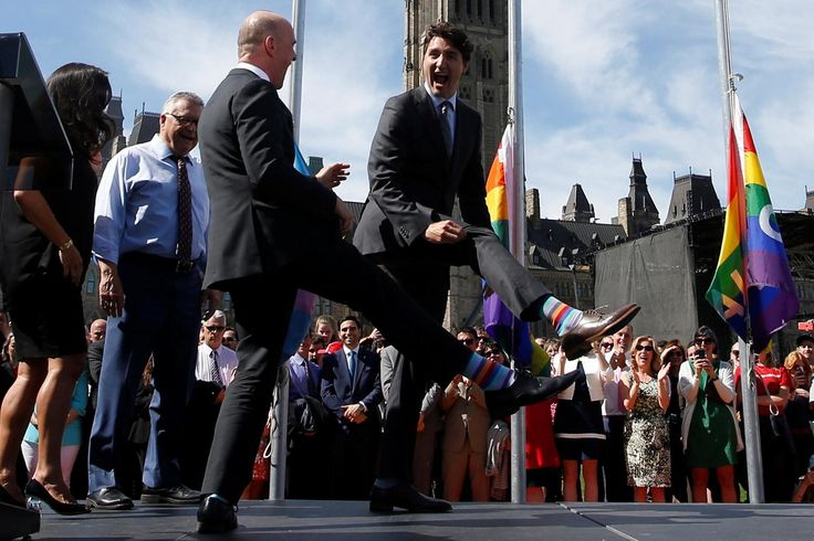 How Justin Trudeau has sparked a new age of sock diplomacy  From a Gay Pride tribute to a nod to Star Wars, Trudeau's feed do both the walking and the talking Samuel fishwick Thursday 29 June 2017 14:40 BST