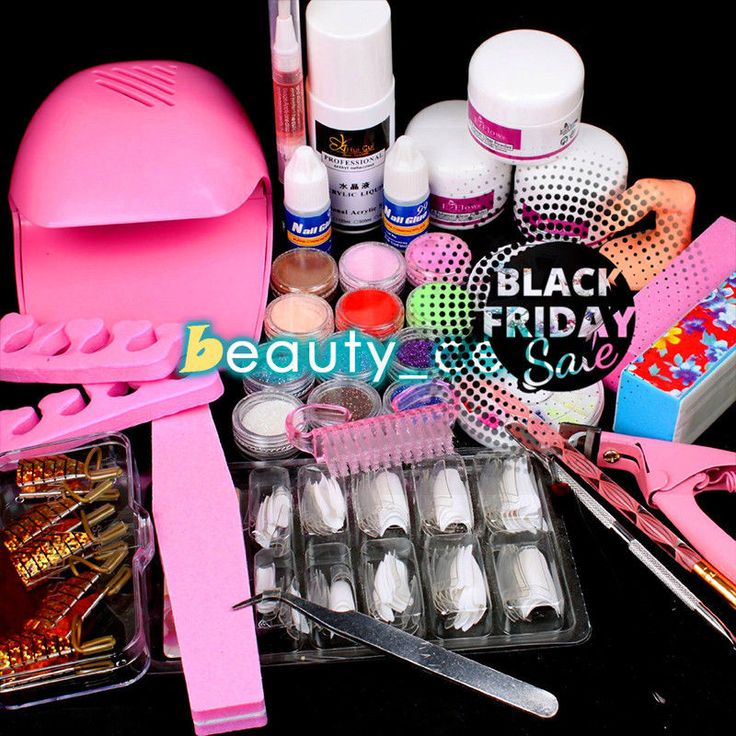 Pro Nail Art White Hand Dryer Blower Acrylic Liquid Powder Form Tip Tool Kit Set in Health & Beauty, Nail Care, Manicure & Pedicure, Manicure/Pedicure Tools & Kits | eBay