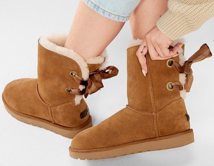 9e7495d62d1 UGG Customizable Bailey Bow Short Boots in Chestnut | UGG Australia ...
