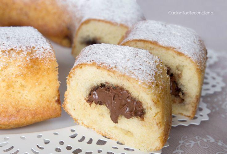 Ciambella Mascarpone e Nutella