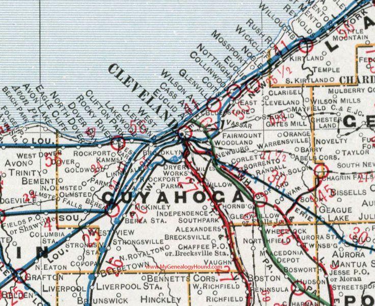 Best Historic Ohio County Maps Images On Pinterest Maps Ohio - Detailed map of ohio